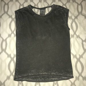 Chaser Brand tank with open back